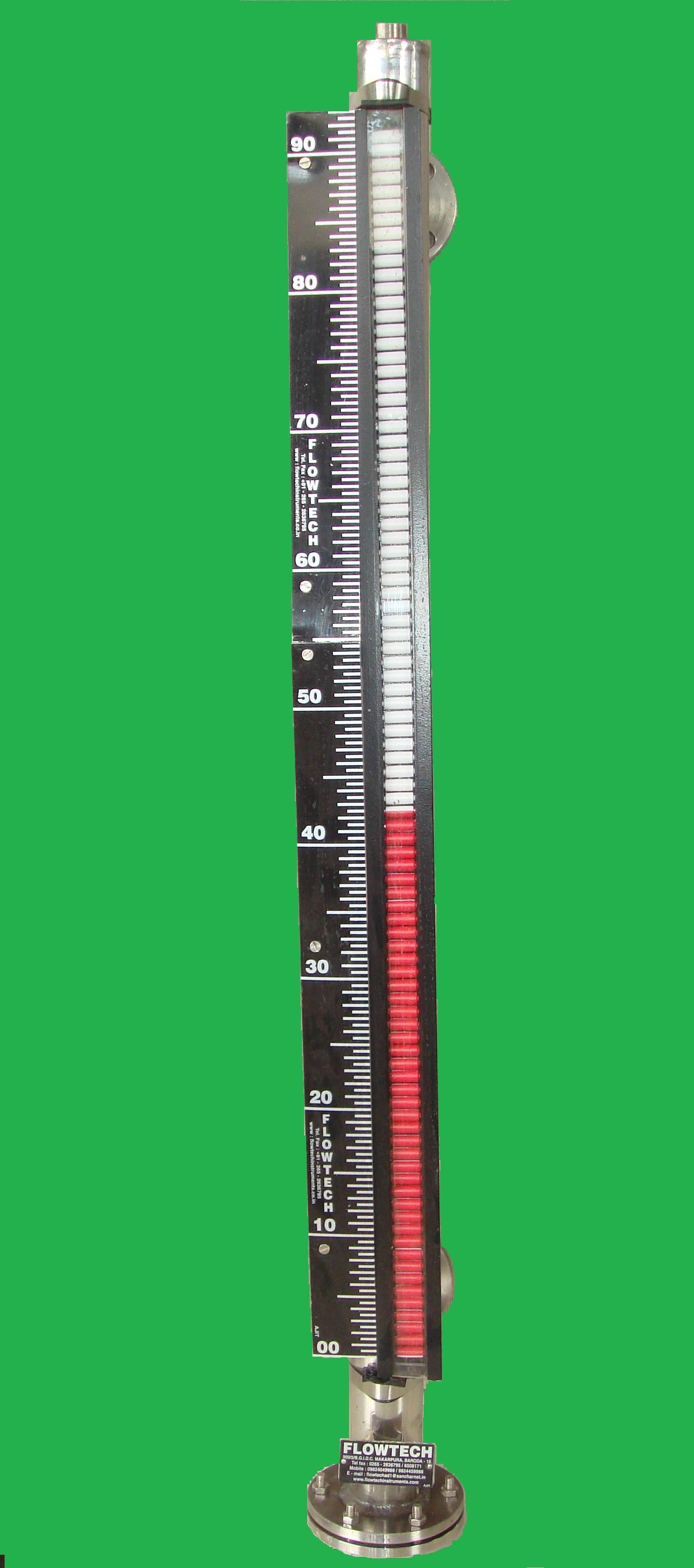 Bicolor Roller Type Level Indicator