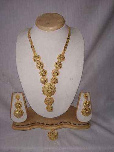 Imitation Long Sets Gold Jewelry