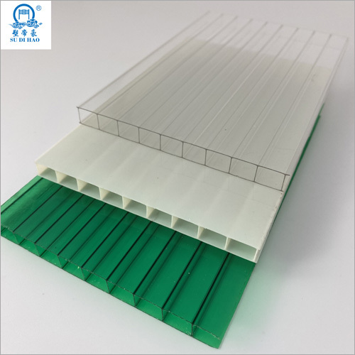 High Quality 2 Layers Greenhouse Polycarbonate Hollow Sheet