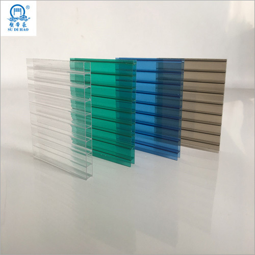 6mm 2 Layers Polycarbonate Hollow Sheet