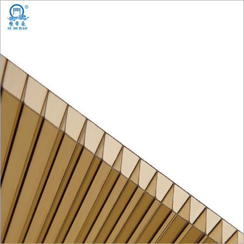Building Material 2 layers 10mm Polycarbonate Hollow Sheet