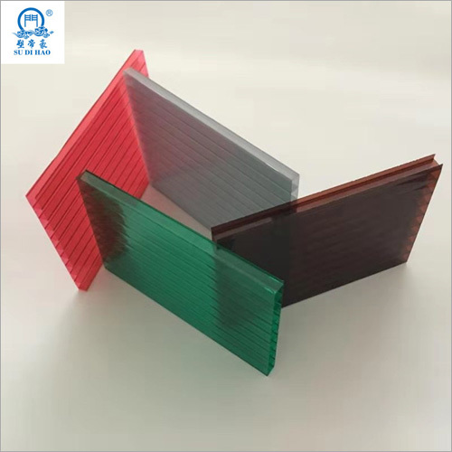Corrugated Roofing Polycarbonate Hollow Sheet