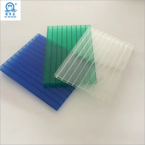 100 Percent PC Material Polycarbonate Hollow Sheet