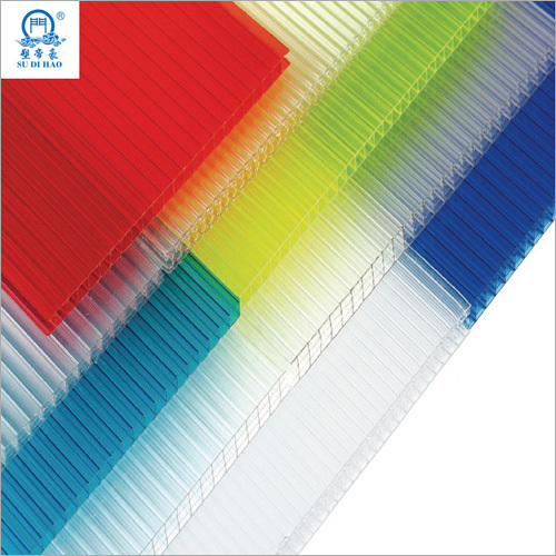 Weather Resistant Polycarbonate Hollow Sheet