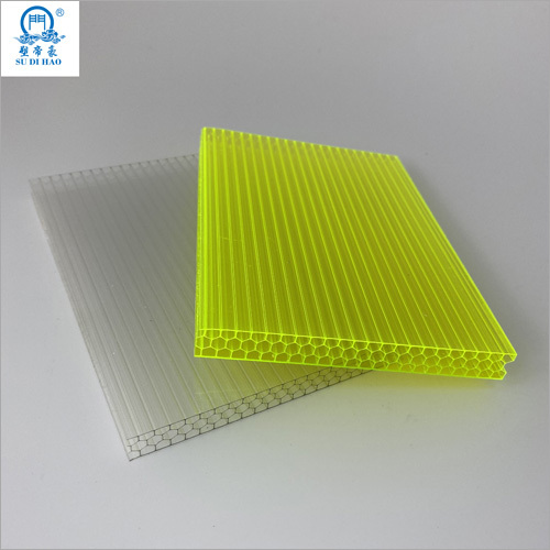 Honeycomb Shape Polycarbonate Hollow Sheet