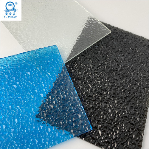 OEM PC Embossed Polycarbonate Solid Sheet
