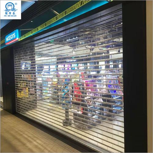 Security Uv Resistant Shop Mall Roller Shutter Door