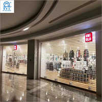 Transparent Security Roller Shutter Door