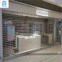 Transparent Durable Polycarbonate Roller Shutter Door
