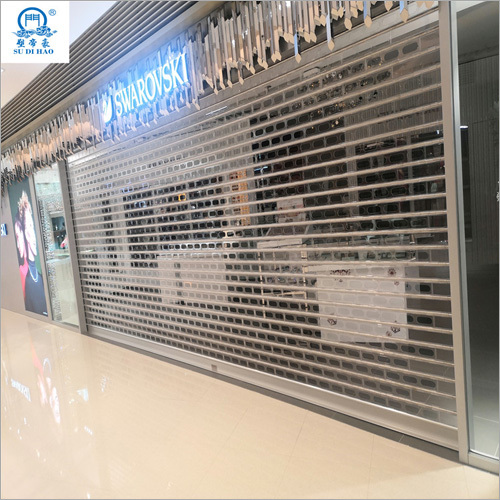 Clear Appearance Electric Roller Shutter Door