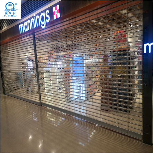 Crystal Strong Roller Shutter Door