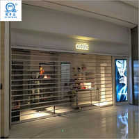 Commercial Polycarbonate Transparent Roller Shutter Doors