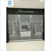 Fashionable Polycarbonate Plastic Shutter Door