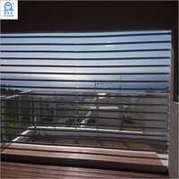 Polycarbonate Transparent PC Slat Security Rolling Shutter Door