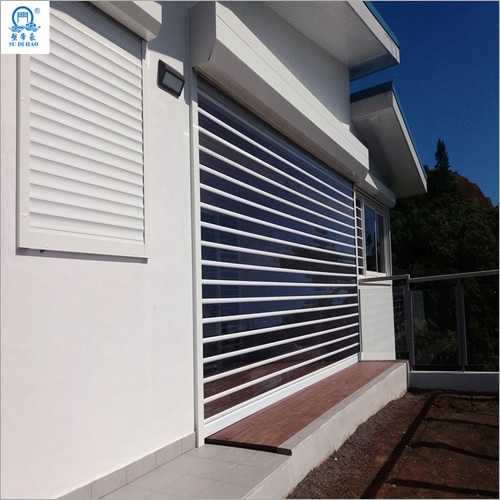 Garage Polycarbonate Rolling Shutter Door