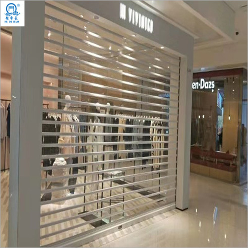 Security Protection Stable Polycarbonate Rolling Shutter Door