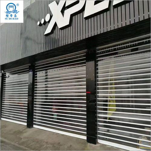 Luxurious Burglar Polycarbonate Rolling Shutter Door