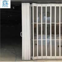 Commercial Automatic Sliding Aluminum Polycarbonate Folding Door