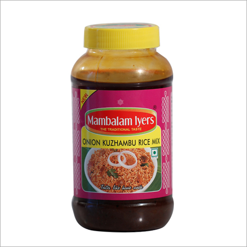 Onion Kuzhambu Rice Mix