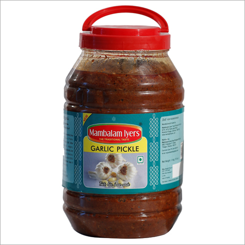 500 gm Garlic Pickle