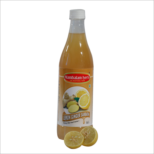 700 ml Lemon Ginger Sarbath