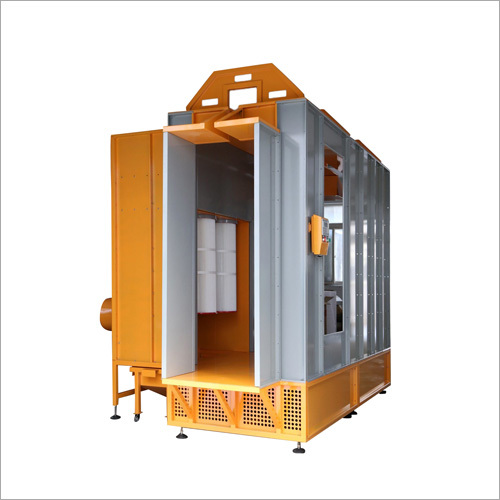 Manual Powder Coating Gun Paint Booth