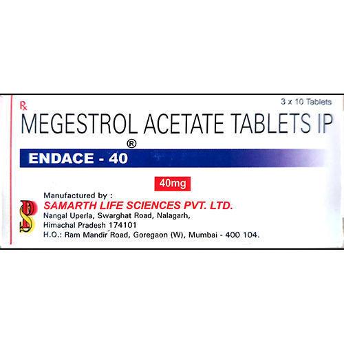 40mg Megestrol Acetate Tablets IP