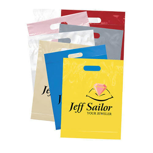Printed Non Woven D Cut Bags