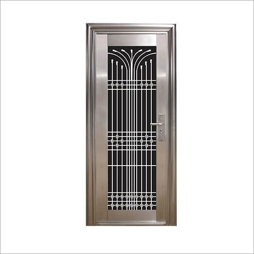 Designer Steel Security Door