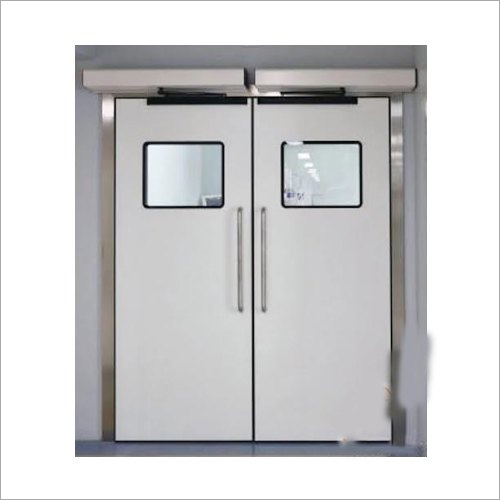 Mild Steel Hospital Double Door