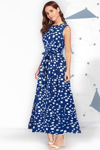 Highway blue gown