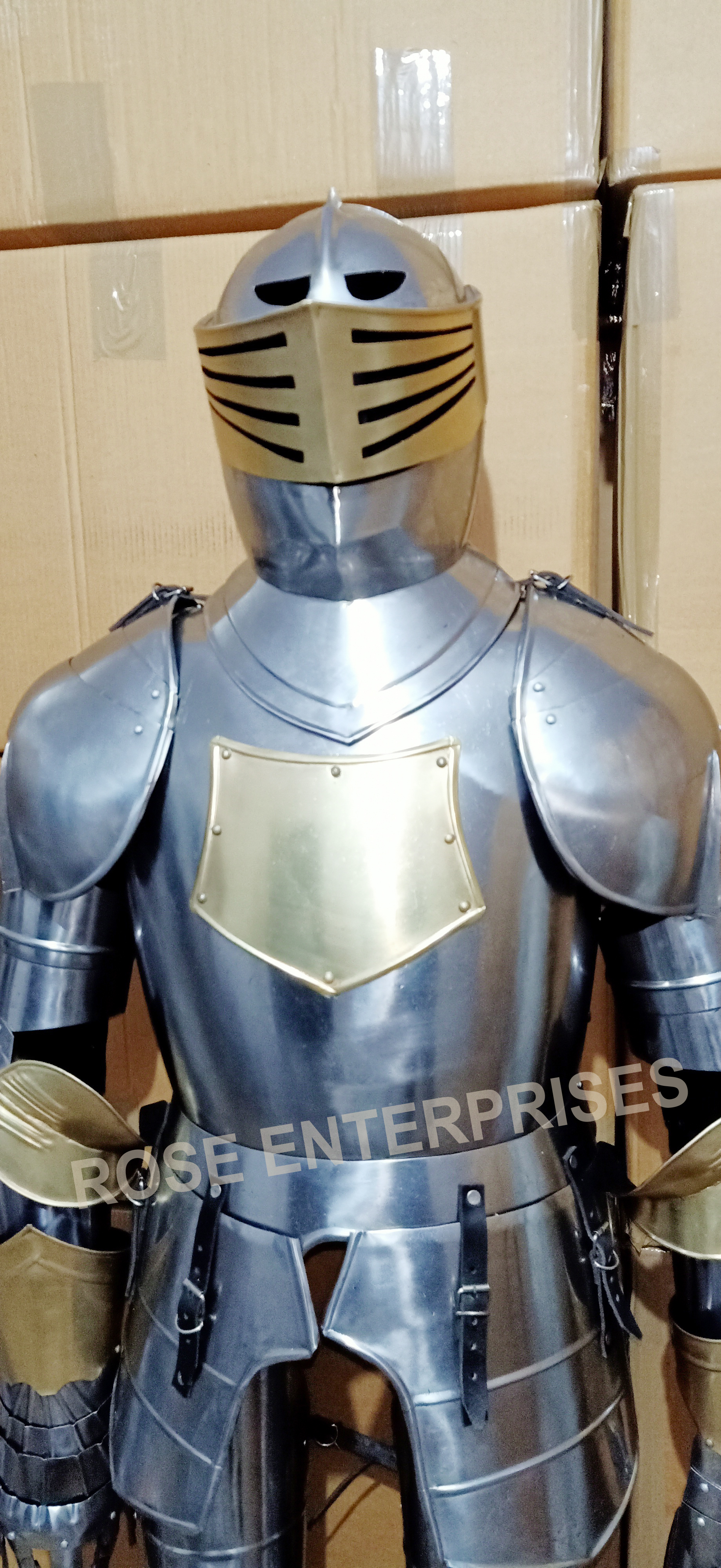 Spanish Dark Wearable Halloween Medieval Full suits of armor