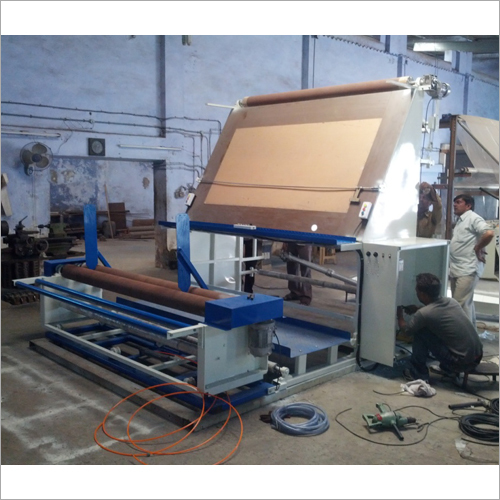 Industrial Inspection Winder Machine