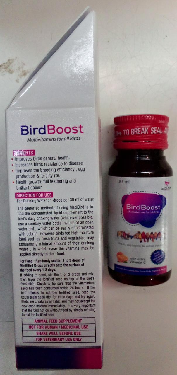 MULTIVITAMIN DROPS FOR BIRDS