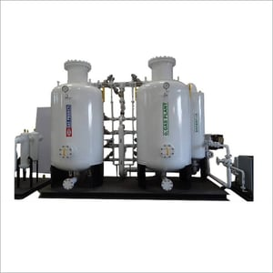 Oxygen Gas Plant with Filling Station