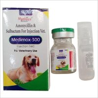 AMOXYCILLIN AND SULBACTAM FOR INJECTION VETERINARY