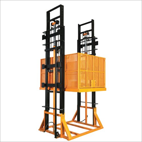 Freight Lift Without Enclosure