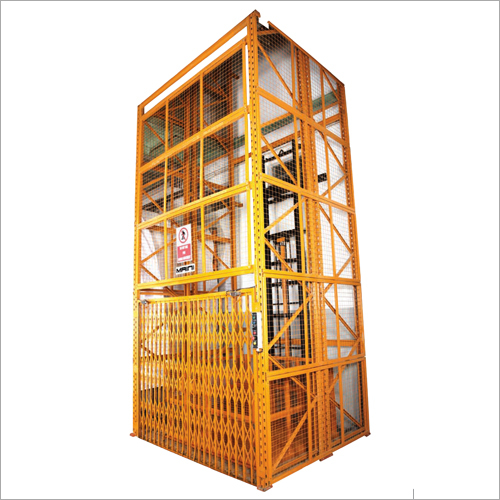 Freight Lift With Enclosure