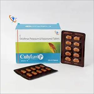 Diclofenac Potassium 50mg + Paracetamol 325mg Tablet