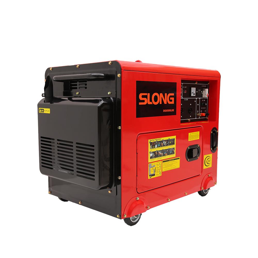 DGG6500LDE Diesel & Lpg Generator