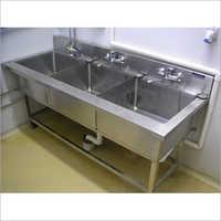 Three Sink Stand