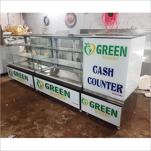 Bakery Display Counter With Cash Counter