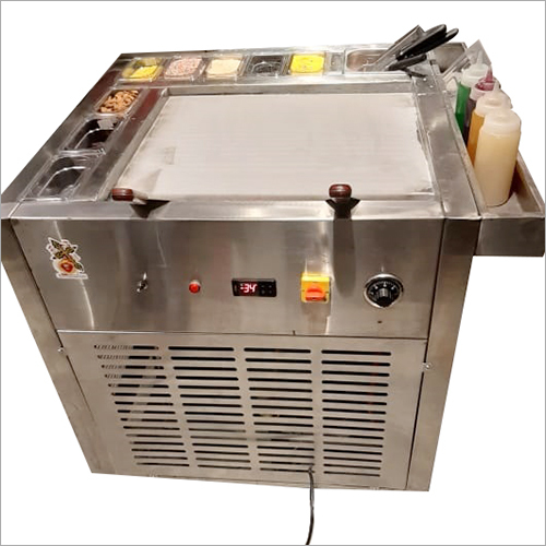 Single Pan Ice Cream Machine
