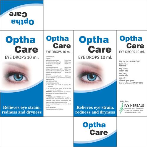 10 ml Optha Care Eye Drop