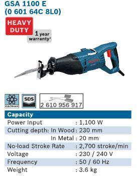 1100 Watt Sabre Saw