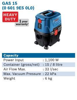 1100 Watt Wet & Dry Vacuum Cleaner