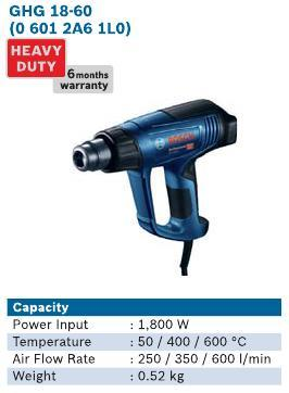 1800 Watt Hot Air Gun
