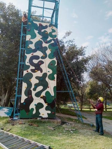 Outdoor Wall Climbing