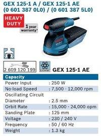 250 Watt Ecentric Sander