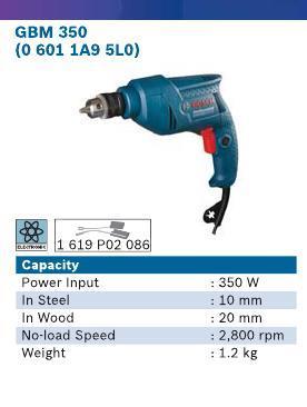 350 Watt Cordless Drill
